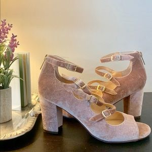 Unisa Blush Block Heel